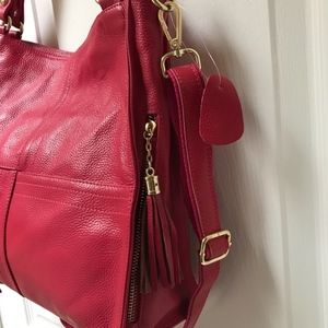 Young Villagers Bags - Genuine Italian Leather Shoulder/Crossbody Bag